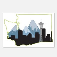 Washington State Postcards (Package of 8)