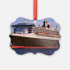 Bon Voyage: cruise ship 2 Ornament