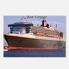 Bon Voyage: cruise ship 2 Postcards (Package of 8)