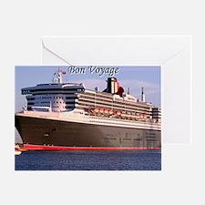 Bon Voyage: cruise ship 2 Greeting Card
