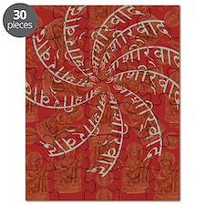 Sanskrit Prayer Blessings Goddess Design Puzzle