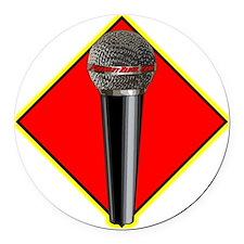 FoundryRadio.com Logo Round Car Magnet