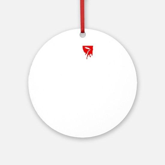 Painter-ABQ2 Round Ornament