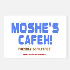 MOSHES CAFEH! - FRESHLY G Postcards (Package of 8)