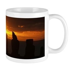Easter Island sunset Mug