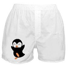 Little Ninja Penguin Boxer Shorts
