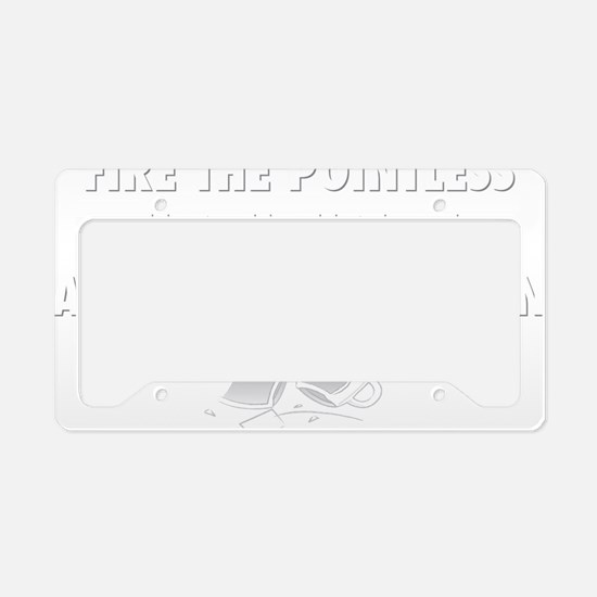Fire the House License Plate Holder