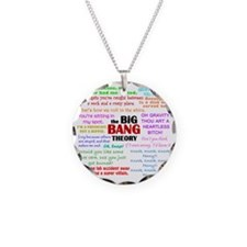 Big Bang Theory Quotes Necklace