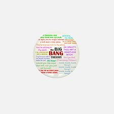 Big Bang Theory Quotes Mini Button