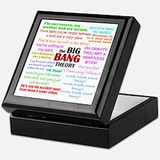 Big Bang Theory Quotes Keepsake Box