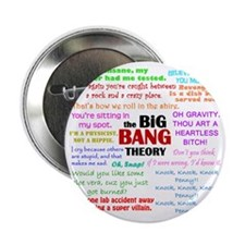 "Big Bang Theory Quotes 2.25"" Button"