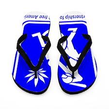 Thug Free America A2 Flip Flops