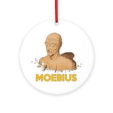 Moebius scifi vintage Round Ornament