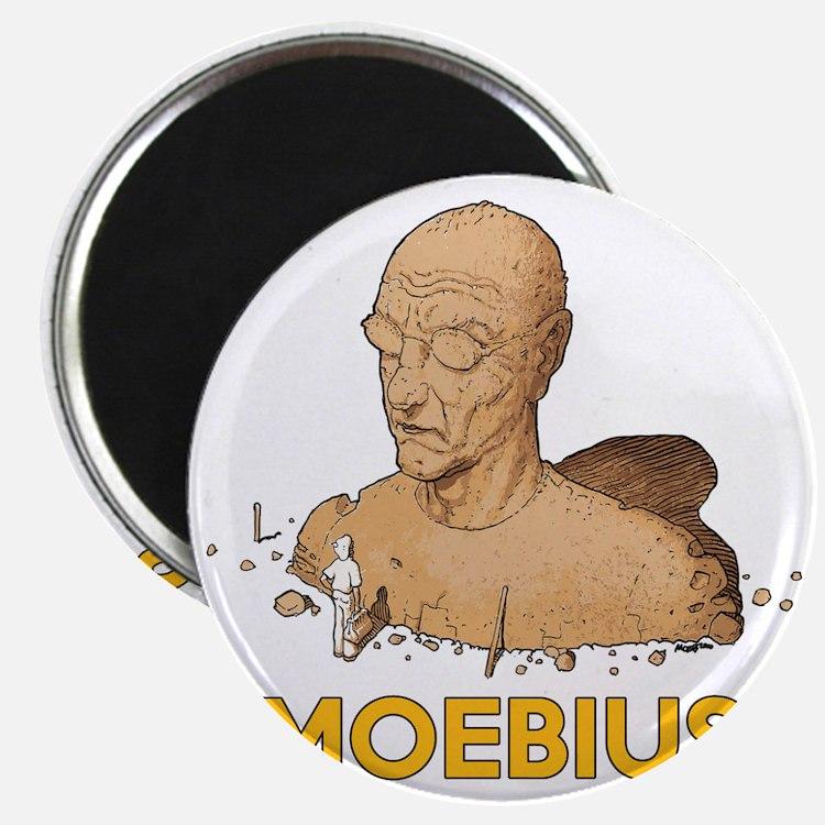 Moebius scifi vintage Magnet