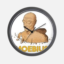 Moebius scifi vintage Wall Clock