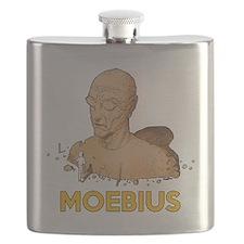 Moebius scifi vintage Flask