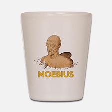 Moebius scifi vintage Shot Glass