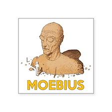 """Moebius scifi vintage Square Sticker 3"""" x 3"""""""