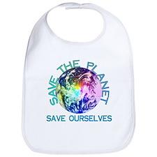 Save The Planet Bib