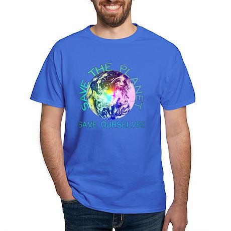 Save The Planet Dark T-Shirt