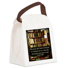 Rainy Day Canvas Lunch Bag