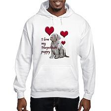Neopolitan Puppy Love Hoodie