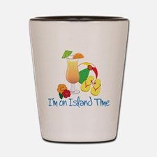 Island Time Shot Glass