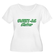 Sweet-as SISTER cool New Zealand funny Plus Size T