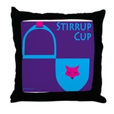 Stirrup Cup-Gifts Throw Pillow