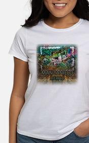 Iguana Manzanillo Mexico Tee