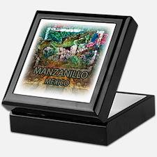 Iguana Manzanillo Mexico Keepsake Box