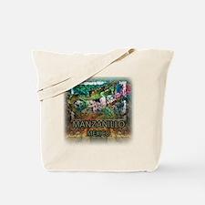 Iguana Manzanillo Mexico Tote Bag