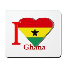 I love Ghana Mousepad