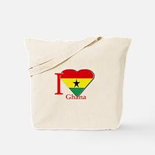 I love Ghana Tote Bag
