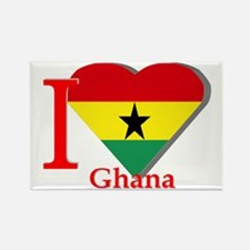 I love Ghana Rectangle Magnet