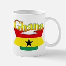 Ghana flag ribbon Mug