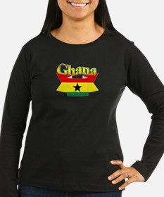 Ghana flag ribbon T-Shirt