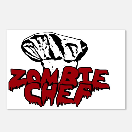 Zombie Chef Postcards (Package of 8)