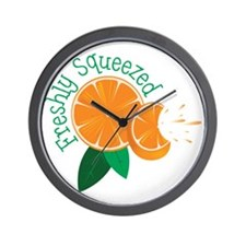 Freshly Squeezed Wall Clock