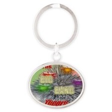the Big Bang Theory TV Oval Keychain