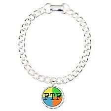 FTF Round Sticker Design Bracelet
