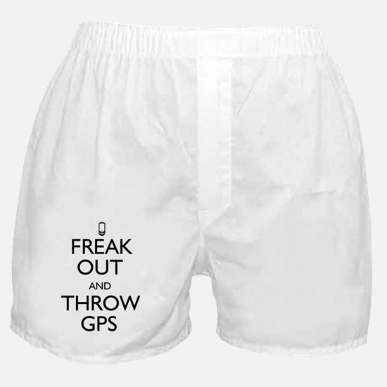 Freak Out and Throw GPS Boxer Shorts