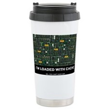 Loaded With Cache Travel Mug
