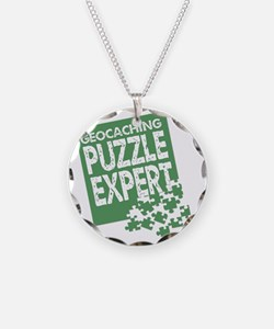 Geocaching Puzzle Expert Necklace