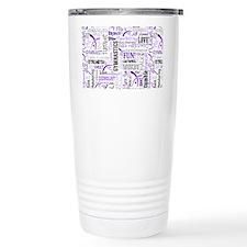 gymnastics pattern 10 x Travel Mug