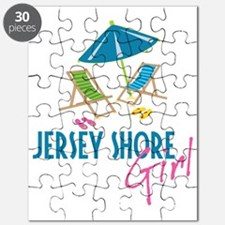 Jersey Shore Girl Puzzle