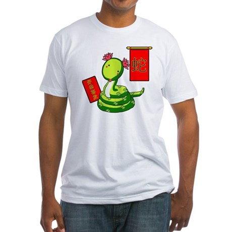 Year of the Snake Fitted T-Shirt