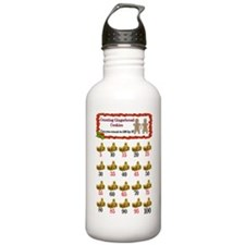 Counting cookies chart Water Bottle