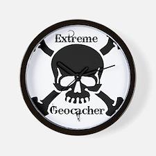 Extreme Geocacher Wall Clock