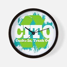 CITO (Dark) Wall Clock